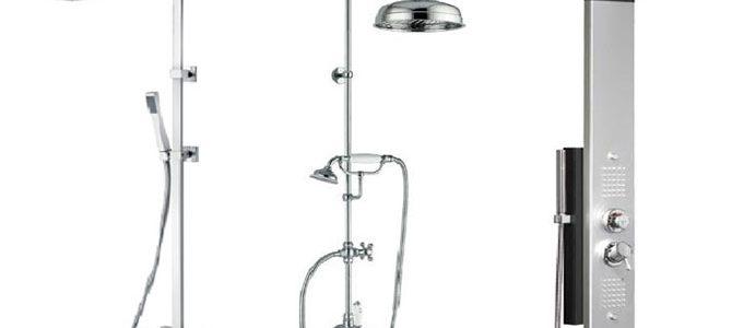 colonnes de douches