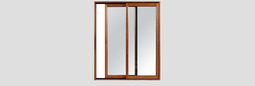 porte fenêtre mixte alu bois