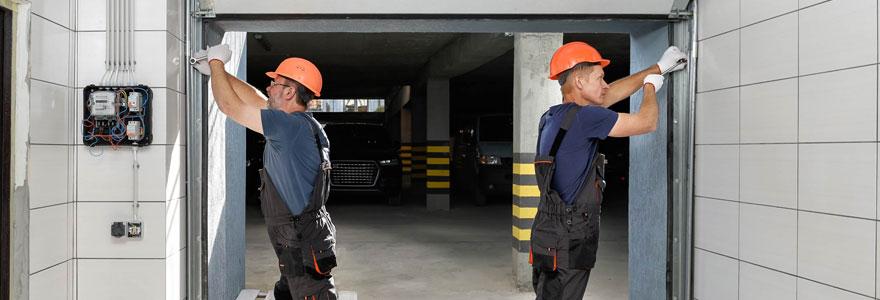 Installer une porte de garage