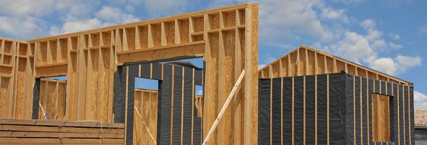 maison en ossature en bois